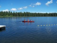 Summer time Lake McCumber